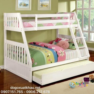 Giường 3 tầng Discovery White